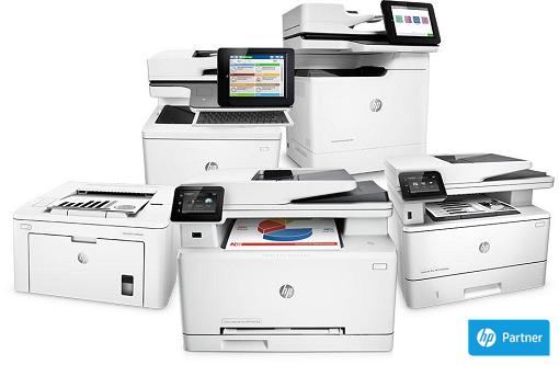 HP nyomtatók kis és nagyvállalati méretben.