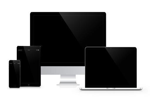 Számítógép notebook tablet monitor telefon.